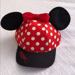 Disney Park Adjustable Snapback Minnie Mouse Youth